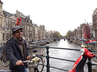 Massoud in Amsterdam