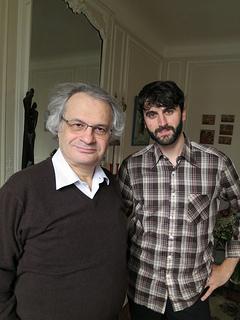 Amin Maalouf and I.