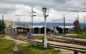 Sarajevo Train Station, May 2013.