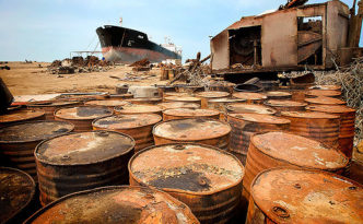 Oil Drums in Karachi, photo by  Michael Foley / Flickr CC-BY-ND 2.0